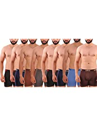 Trunks For Men By ZOTIC -underwear For Men - Cotton Trunk Innerwear - Men's Underwear Long H Trunk Combo Pack... - B07CBNBK6Q