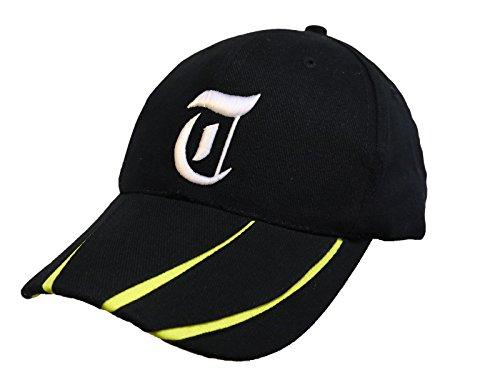 Unisex Cotton Kappe Baseball Damen Herren HUT Mütze Cap Caps Gothic 3D A-Z Snapback Snap Back (T)