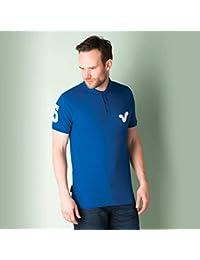 Polo Voi Jeans Wyndham pour homme en bleu