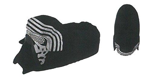 Sfiziosa-Zapatillas-de-estar-por-casa-de-Material-Sinttico-para-hombre-negro-negro