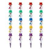 Hothap Lot de 4 surligneurs 5 couleurs haute qualité pour l'école des enfants peinture jouet