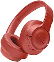 JBL Tune 750BTNC Over-Ear Wireless Active Noise-Cancelling Headphones with 15 Hours Playtime (Coral)