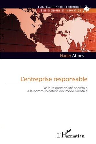 Entreprise Responsable de la Responsabilite Societale a la Communication Environnementale