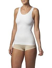 Sleex Figurformendes Damen Unterhemd (mit hoeherem Ruecken) (44042)