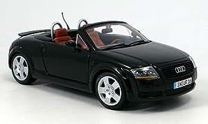 Audi TT , Roadster, schwarz, 1999, Modellauto, Fertigmodell, Maisto 1:18