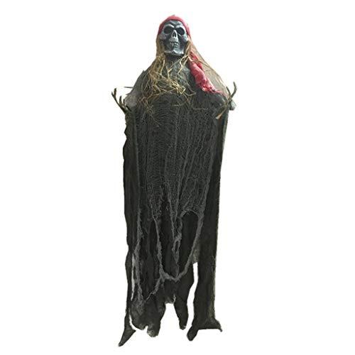 JIBO Horror Que Cuelga El Fantasma Decoración De La Escena De Halloween Suministros Barra De La Casa Encantada Habitación Secreta Accesorios De Fantasmas De Miedo