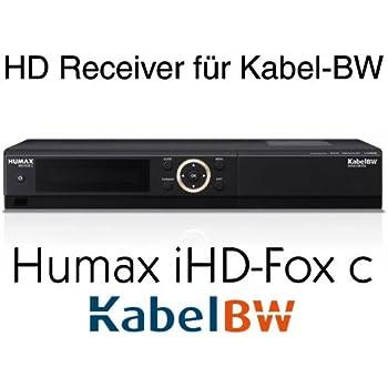 humax ihd fox c hdtv kabelreceiver f r kabel bw elektronik. Black Bedroom Furniture Sets. Home Design Ideas