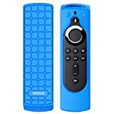 TiMOVO Protective Case Compatible with Fire TV Stick 4K Remote, Anti Slip Shock Proof Shell, Lightweight Soft Silicone Cover for Fire TV Stick (2nd Gen) Remote Controller - Blue