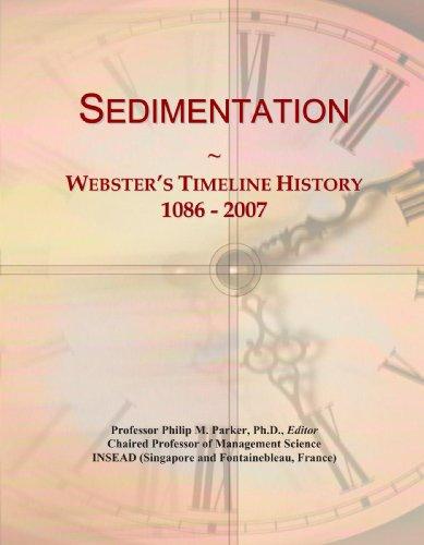 Sedimentation: Webster's Timeline History, 1086-2007