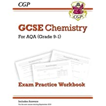 New Grade 9-1 GCSE Chemistry: AQA Exam Practice Workbook (with answers) (CGP GCSE Chemistry 9-1 Revision)