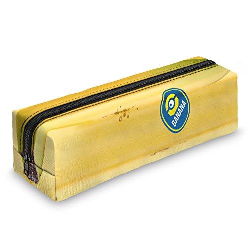 Minion Banana Federmäppchen Schuletui Federmappe Mäppchen Stifteetui Schlamperbox Stifte Schule Makeup Pinselbox Pinsel