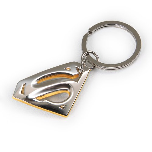Click for larger image of Superman Returns Diecast Metal Keychain By Noble Collection