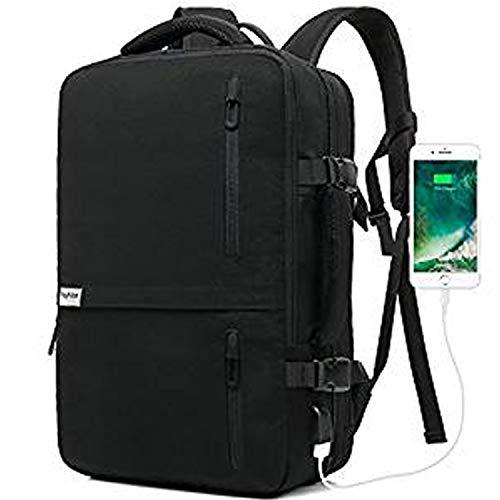 Lifeasy 15.6-17 Zoll Reiserucksack Laptop Rucksack Koffer Handgepäck Erweiterbar S...