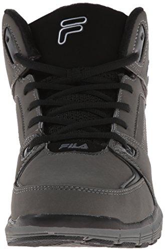 Fila Agitare N Bake 3 scarpa da basket Pewter/Black/Metallic Silver