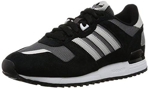adidas Originals Zx 700, Baskets Basses Homme noir blanc