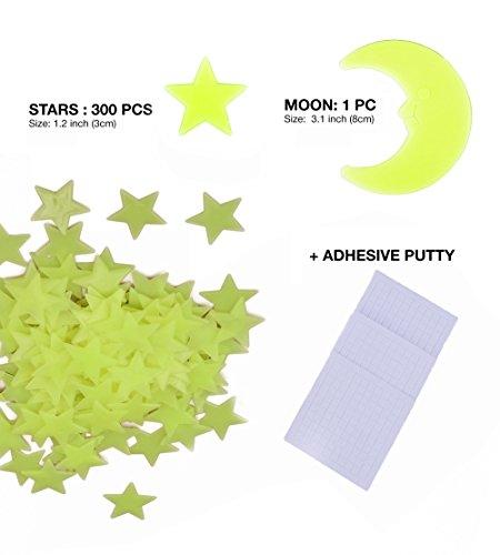 Zoom IMG-2 confezione da 300 stelle fluorescenti