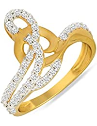 P.N.Gadgil Jewellers Lavanya Collection 22k (916) Yellow Gold Ring - B01M7P8SQ6