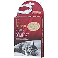 Felisept Home Comfort Beruhigungshalsband – Katzenhalsband mit natürlicher Katzenminze steigert Wohlbefinden & Entspannung bei Katzen