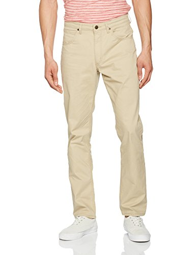 lee-brooklyn-straight-pantalon-homme-beige-light-sand-w40-l34-taille-fabricant-40