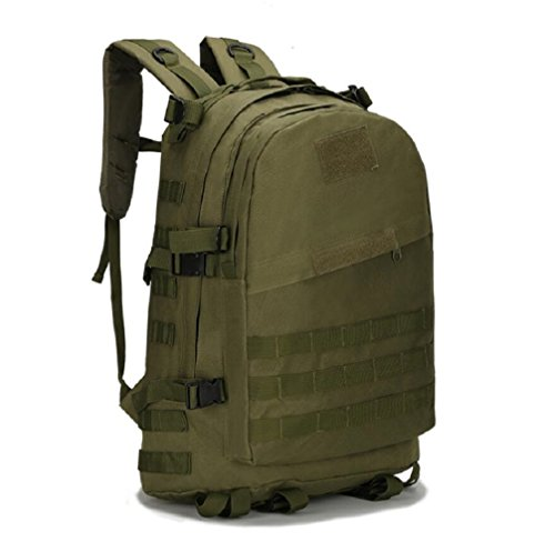 ZC&J Outdoors 36-55L Capacity Camouflage Männer Schulter Rucksack, Tactical Sport Trekking Bergsteigen Rucksack, wasserdicht Oxford Tuch verstellbare Bergsteigen Tasche A5