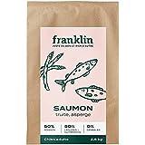 Franklin - Croquettes sans Céréales - Chien Adulte - Naturel - Hypoallergéniques – Poil Brillant – Saumon, Truite, asperge -