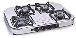Glen Alda Kitchen CTA 147 TR Triple Ring Burner Stainless Steel Auto Ignition Gas Stove