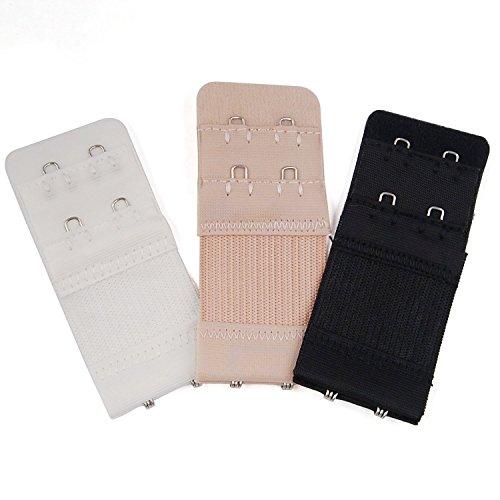 trixes-3-pz-estensori-per-reggiseno-flessibili-con-2-gancetti-nero-bianco-e-beige