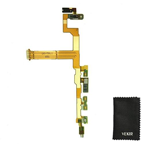 ON / OFF Kamera Controller Volume Schlüssel Knopf Sprecher Flexkabel Wiedereinbau mit Vibrator Motor Proximity Sensor kompatibel mit Sony Xperia Z5 Compact Mini E5823 E5803 VEKIR Retail Verpackung