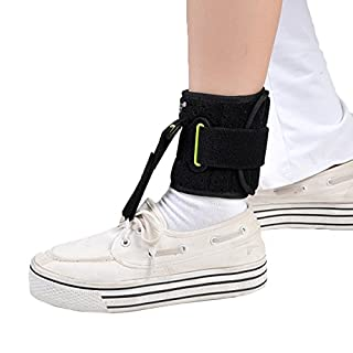 Ankle Joint Foot Drop Orthosis Adjustable Foot-UP Ankle Brace AFO Day Time Pain Relief Plantar Fasciitis Splint Orthotics Strap Ankle Sprain Achilles Tendinitis Ankle Supports