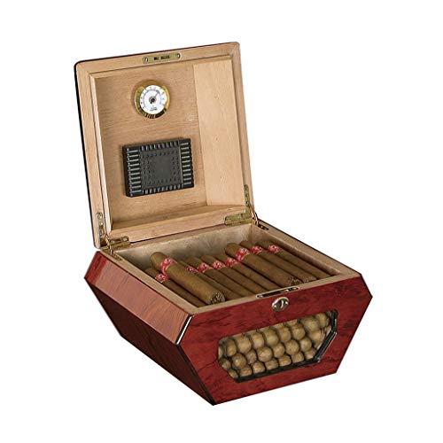 Humidores Cigarros Accesorios Cigar Box ,con Humidificador