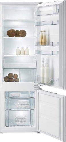 Gorenje RKI 5182 EW Einbau-Kühl-Gefrier-Kombination  A  Höhe: 177,5 cm  Kühlteil: 223 L  Gefrierteil: 61 L  weiß  FreshZone-Schubfach