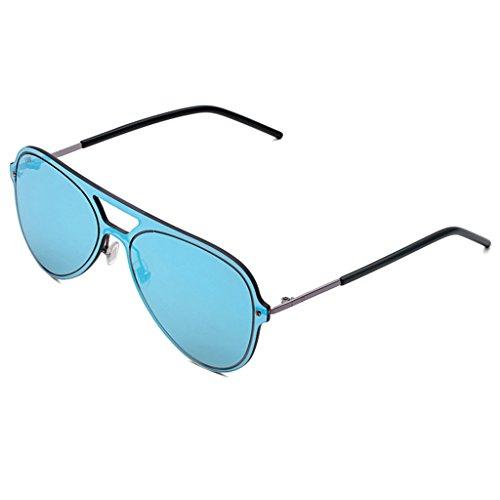 3123a9029d49b Lunettes de soleil WSSF Polarized UV400 Protection Stylish Ultralight  Eyewear Homme Personnalité Aviator Conduite Lunettes Universel