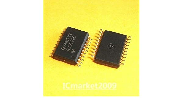 5 PCS TLC7528CDWR SOP24 TLC7528CDW TLC7528C TLC7528 DIGITAL-TO-ANALOG CONVERTERS