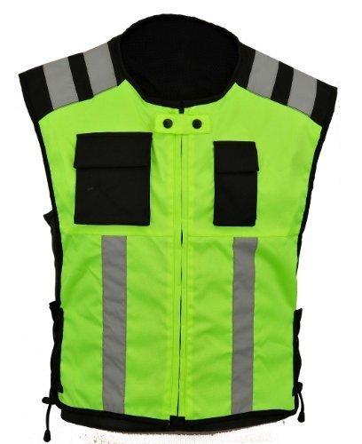 Hola visibilidad Chaleco de la motocicleta Ropa de seguridad industrial Reflectante, XXL