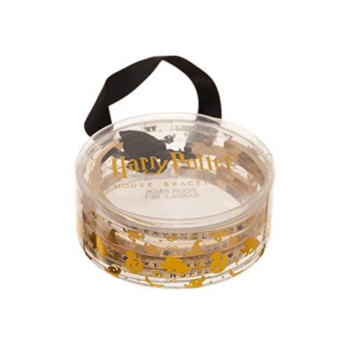 Harry Potter Bracelet bangle Hogwarts Houses nouveau officiel in Tinted Clear