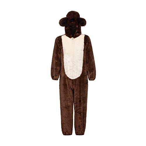 Kostümplanet® Bär Kostüm Kinder braun Bären Kinderkostüm - Kuschel Bär Kostüm