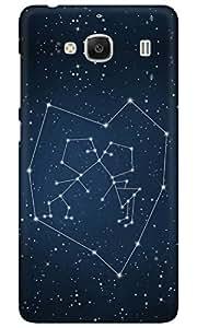 Dreambolic LOVE CONSTILATION 2 Back Cover for Xiaomi Redmi 2