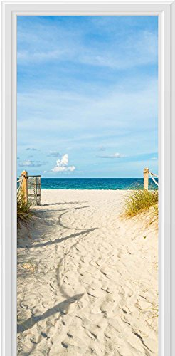 wall-sticker-beach-path-sea-sun-sand-fantasy-door-large-art-canvas-print-ak2699