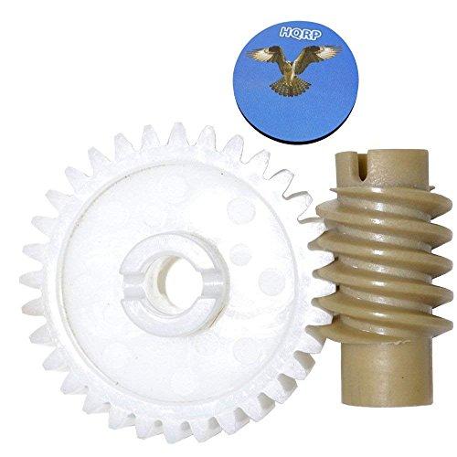 HQRP Antriebszahnrad und Schneckengetriebe für Craftsman 13953628SRT,