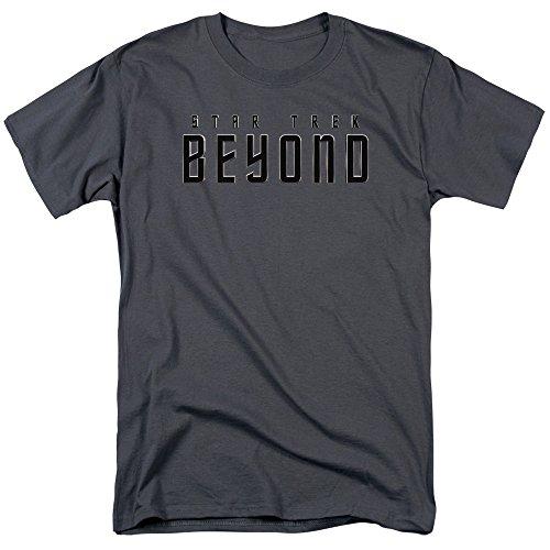 Star Trek Herren T-Shirt Anthrazit