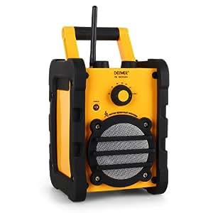 Denver TR-44 Radio FM de chantier étanche anti-éclaboussures