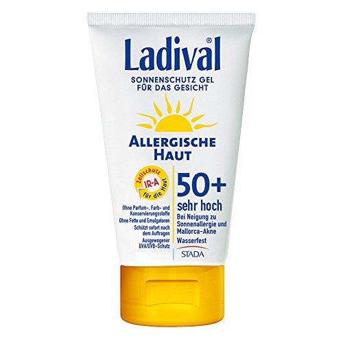 Ladival Allergische Haut Gel Gesicht LSF 50+, 75 ml