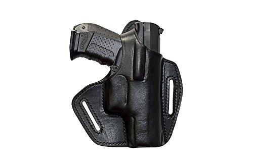 VlaMiTex BX Leder Pistolenholster Gürtel Holster für Glock 17 19 22 23 25 31 32 34 37 -