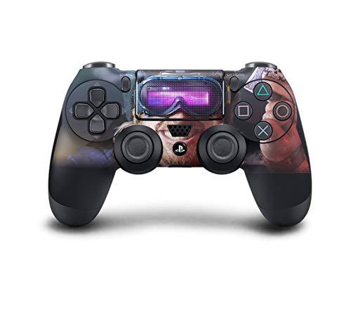 PS4 DualShock Wireless Controller Pro Konsole PlayStation4 Controller mit weichem Griff und exklusiver individueller Version Skin (PS4-Beyond Good & Evil 2) (Ps4-controller-touchpad-aufkleber)