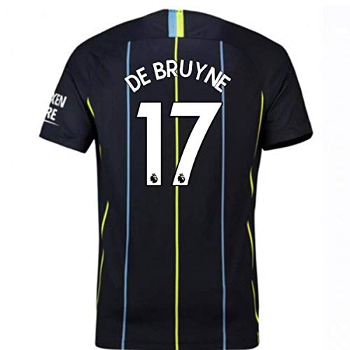 cd9927cd00f 2018-2019 Man City Away Nike Football Soccer T-Shirt Camiseta (Kevin De