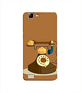 Print Masti Designer Back Case Cover for Vivo Y27 :: Vivo Y27L (Phone Dial Numbers Call Voice Messege )
