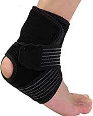 B FIT (USA) Adjustable Ankle Brace with Wrap Support