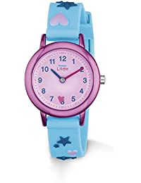 Prinzessin Lillifee Mädchen-Armbanduhr Analog Quarz Silikon 2013218