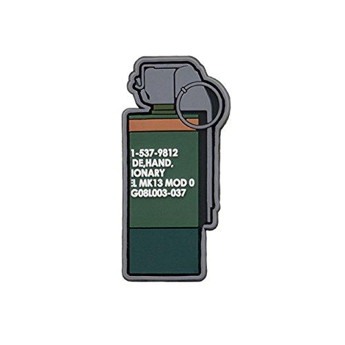 TaiwanGun mk13Granada Gun Rifle Airsoft PVC Patch 3d