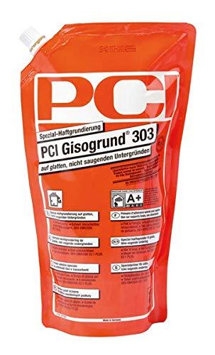 PCI Gisogrund 303 Spezial-Haftgrundierung 1 l - Voranstrich Tiefengrund Fliese - Gebrauchsfertig, ohne Mischen verarbeitbar